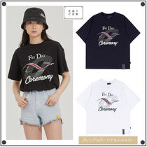 日本未入荷ROMANTIC CROWNのTRACK AND FIELD TEE 全3色