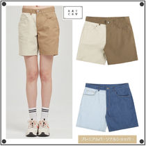 日本未入荷ROMANTIC CROWNのTONE ON TONE COTTON SHORTS 全2色