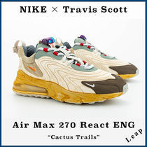"【Nike×Travis Scott】Air Max 270 React ENG ""Cactus Trails"""