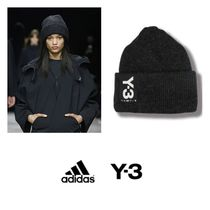 ★送料関税込★ADIDAS Y-3 BADGE BEANIE (BLACK)★