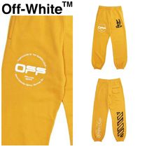 【Off-White】☆人気☆ OFF-WHITE CARTOON SLIM SWEATPANT