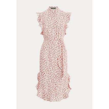 POLO RALPH LAUREN ワンピース 入手困難!完売必須!POLO RALPH LAUREN Floral Ruffled Dress(3)