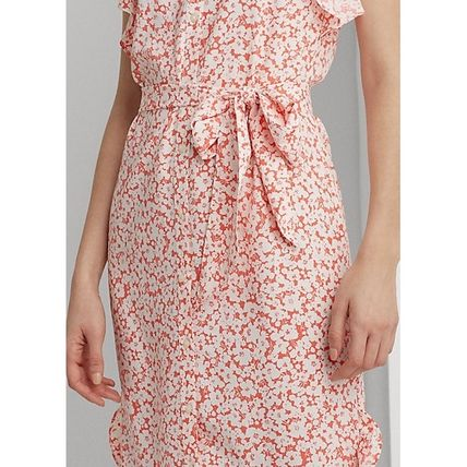 POLO RALPH LAUREN ワンピース 入手困難!完売必須!POLO RALPH LAUREN Floral Ruffled Dress(6)