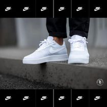 【Nike】Air Force 1 Flyknit trainers in white ★関税、送料込