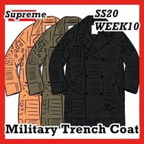 Supreme Military Trench Coat SS 20 WEEK 10