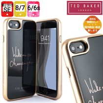 【TED BAKER】BUBLIE 強化ガラス iPhone SE/8/7/6 ケース 黒