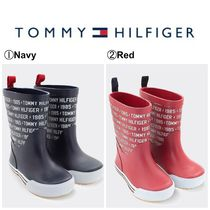 【Tommy Hilfiger】☆キッズ☆TH TODDLER RAIN BOOT