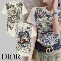 <DIOR>BRUTAL JOURNEY OF THE HEART リネン&コットン Tシャツ