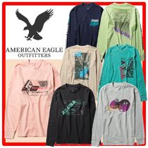 American Eagle Outfitters(アメリカンイーグル) Tシャツ・カットソー ☆関税込☆American Eagle☆Cotton graphics Tee☆7color☆