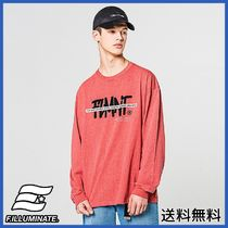 [FILLUMINATE] Unisex Overfit Fore Logo Tee-Coral
