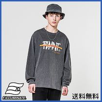 [FILLUMINATE] Unisex Overfit Fore Logo Tee-Charcoal