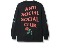 19FW  Anti Social Social Club Violets Are Blue Long Sleeve