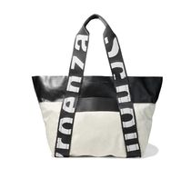 ★Proenza Schouler★East/West leather and canvas tote