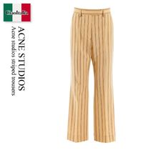 Acne studios striped trousers