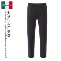 Acne studios trousers with elasticated waistband