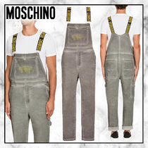◆Moschino 20SS 最新◆MOSCHINO COUTURE サロペット◆DARK GREY