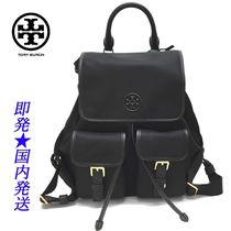 TORY BURCH 74462-001 PERRY NYLON FLAPバックパックBLACK(新品)