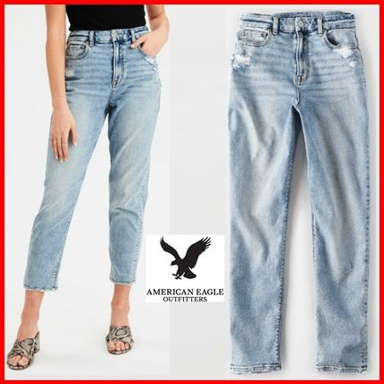 American Eagle Outfitters デニム・ジーパン ★American Eagle★Denim Tapered fit light washing pants☆