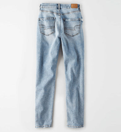 American Eagle Outfitters デニム・ジーパン ★American Eagle★Denim Tapered fit light washing pants☆(6)