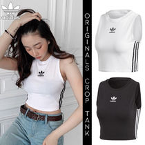 ◆送料無料◆【ADIDAS ORIGINALS】CROP TANK [追跡可能]