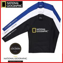 ★NATIONALGEOGRAPHIC★BIG LOGO RASHGUARD☆正規品・安全発送☆