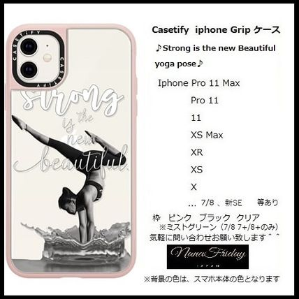Casetify スマホケース・テックアクセサリー Casetify iphone Grip case♪Strong is the new Beautiful ...♪