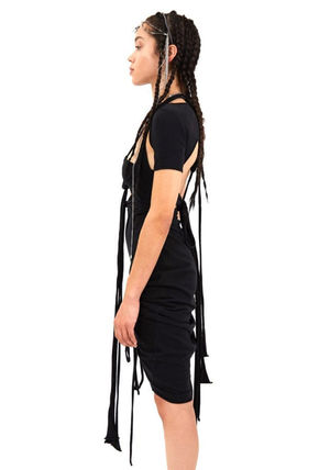 HYEIN SEO ワンピース HYEIN SEO SS20-D5K MACRAME DRESS BLACK(3)