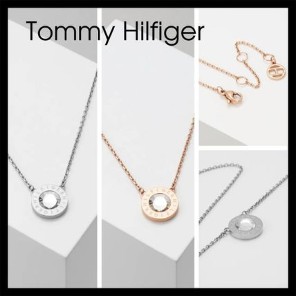 【Tommy Hilfiger】Necklace Jewellery 2780284 2色 クリスタル