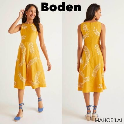Boden ワンピース Boden Fenella Embroidered Dress ワンピース