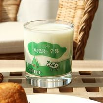 LAZYTHING★韓国★雑貨★so yummy milk glass 300ml_C types
