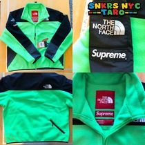 Supreme The North Face RTG Fleece Jacket / bright green