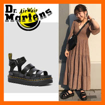 Dr Martens★最新作★Blaire patent Sandals ブレアー サンダル