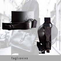 tagliovivo Belt 'Ring & Buckle Belt Brn'