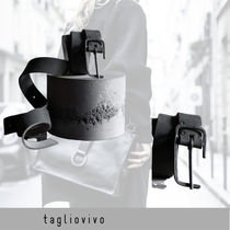 tagliovivo Belt 'Open Buckle Belt Fango'