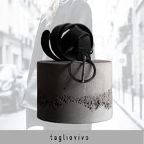 tagliovivo Belt 'Ring Buckle Belt black'