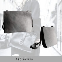tagliovivo Bag 'Flat Cross Body' grey