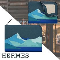 2020SS★直営店HERMES★「Endless Road」ジップタブレットケース