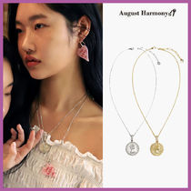◆AUGUST HARMONY◆ ELIZABETH COIN NECKLACE (SURGICAL STEEL)