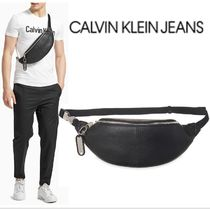 Calvin Klein Jeans CKJ TAG RED ストリートパック 20SS BLACK