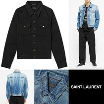 [Saint Laurent] DENIM JACKET 送料関税無料