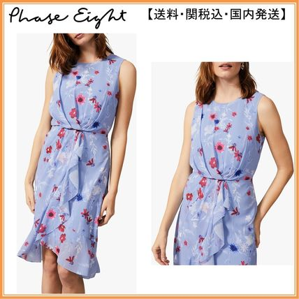 Phase Eight ワンピース 【関税込】Phase Eight ワンピース☆Andrea Floral Georgette Dr