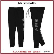 【Marshmello】WORLDWIDE PATCH TERRY スウェットパンツ