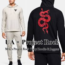 【UA×Project Rock】スネーク柄 Hoodie&Jogger 上下セット