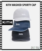 ★2020SS 最新作★KITH WASHED SPORTY CAP