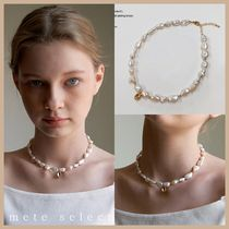 KINDABABY graceful pearls necklace 不揃いパールネックレス