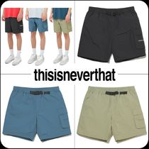 [Thisisneverthat]★韓国人気 20SS NEW★ DSN Hiking Short