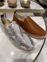 新作!!SALE!!【JIMMY CHOO】LICHI FLAT♪スリッポン♪
