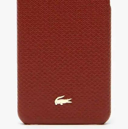LACOSTE スマホケース・テックアクセサリー 特別SALE★ロゴ【送込 LACOSTE】iphone 7+/8+★蛇柄/鰐マーク(3)