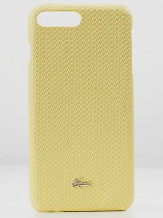 LACOSTE スマホケース・テックアクセサリー 特別SALE★ロゴ【送込 LACOSTE】iphone 7+/8+★蛇柄/鰐マーク(7)