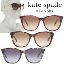 SALE【Kate Spade】caileigh 54mm★スペードロゴ サングラス